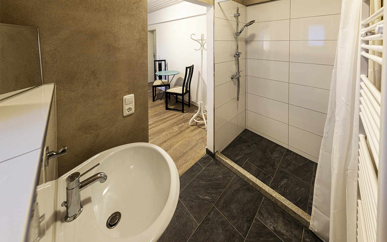 Badezimmer vom Appartement